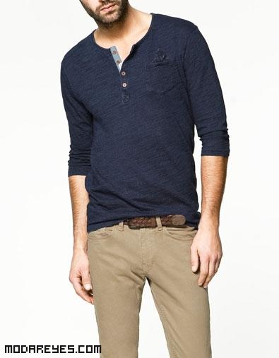camisetas bicolor de moda
