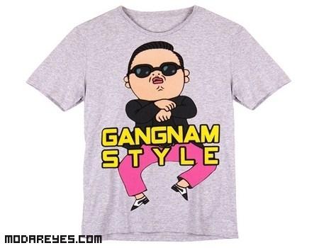 Camisetas Gangnam Style de Bershka