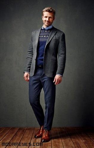 chaquetas en color gris de moda