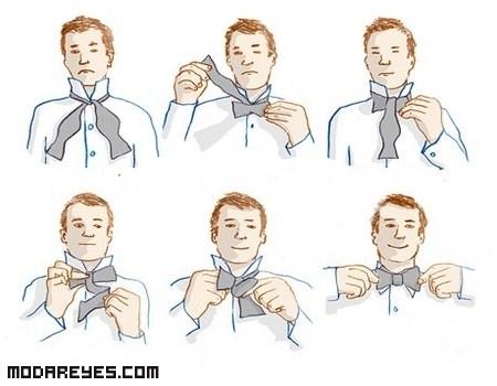 Cómo hacer el nudo de la pajarita