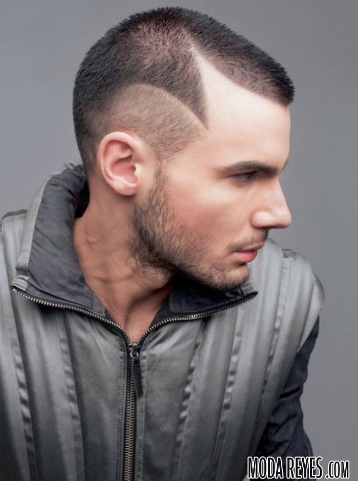 corte de pelo masculino de tendencia