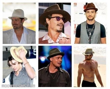 Sombreros de moda en nuestros famosos