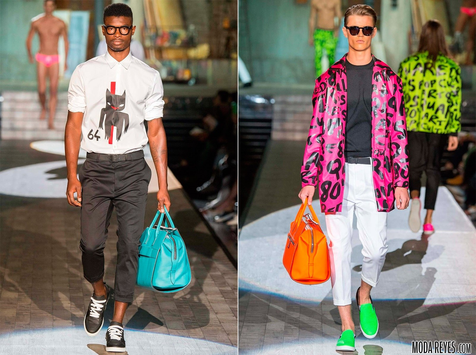moda masculina Dsquared 2015