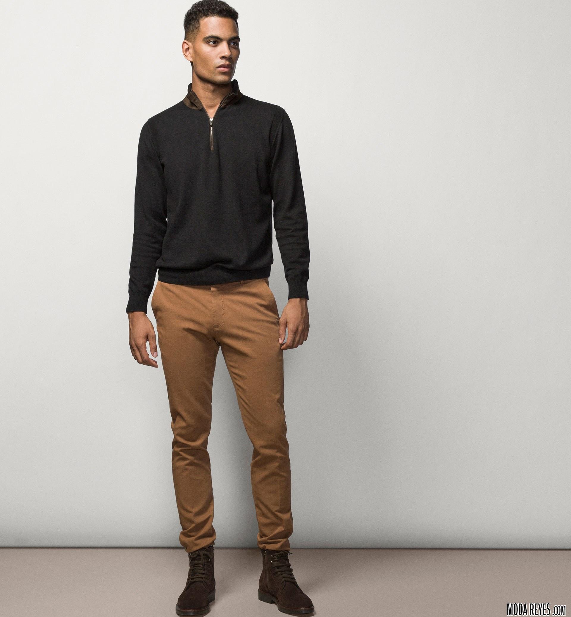 pantalón chino para hombre