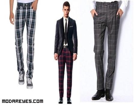 Hombres elegantes a la moda