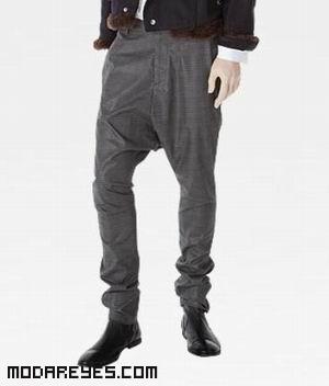 pantalones cagados con botines