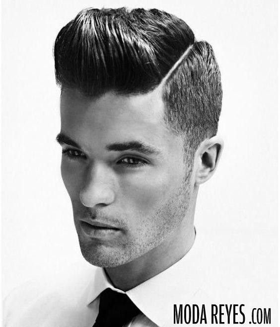 peinado retro pompadour