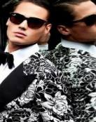 Estampados de moda masculina