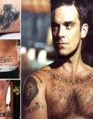 Tatuajes de hombres famosos