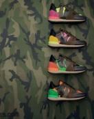 Zapatillas camuflaje de Valentino