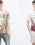 Camisetas de moda en rebajas gracias a Zara