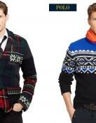Ralph Lauren opta por los estampados navideños