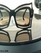Gafas de vinilo, la última tendencia