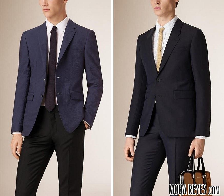 trajes chaqueta de burberry