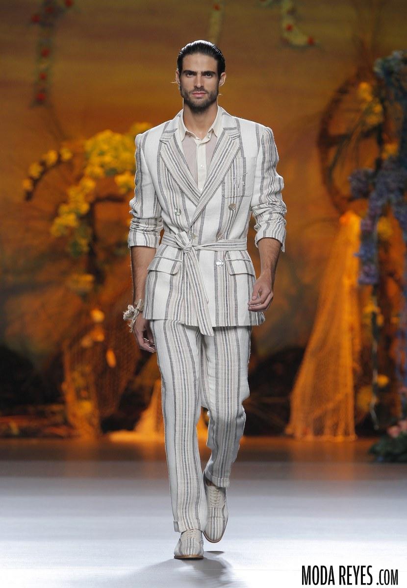 trajes de lino Francis Montesinos