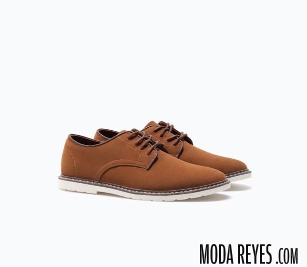 zapatos marrones lefties